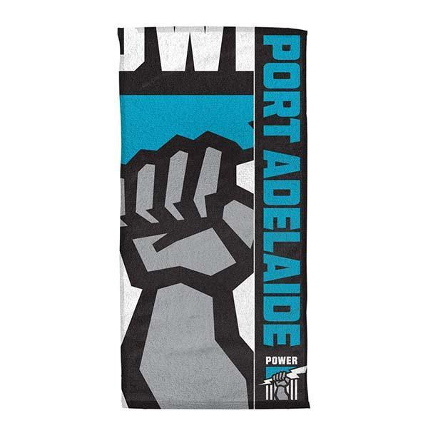 AFL Beach Towel Port Adelaide