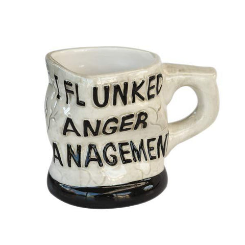 Shaped Mug - Anger Management
