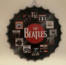Beatles Bottle Cap Wall Art