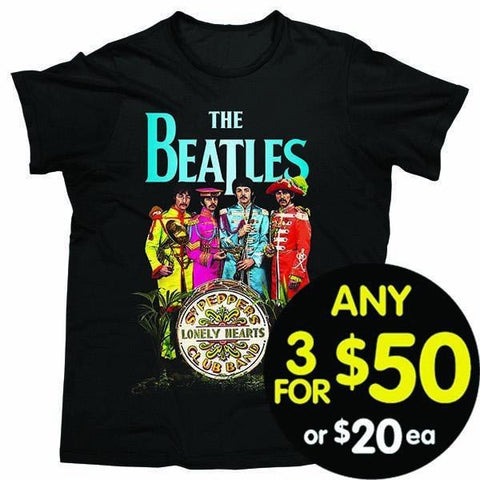 The Beatles Tshirt Sgt Pepper
