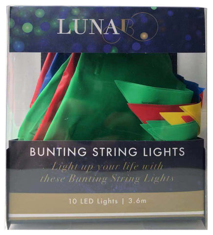 LUNA B STRING LIGHT OUTDOOR BUNTING