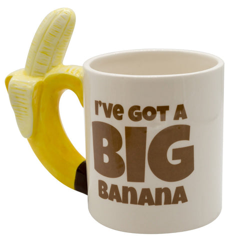 The Monkey Hut - Big Banana Ceramic Mug