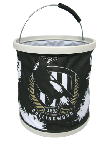 AFL Collapsible Bucket Collingwood