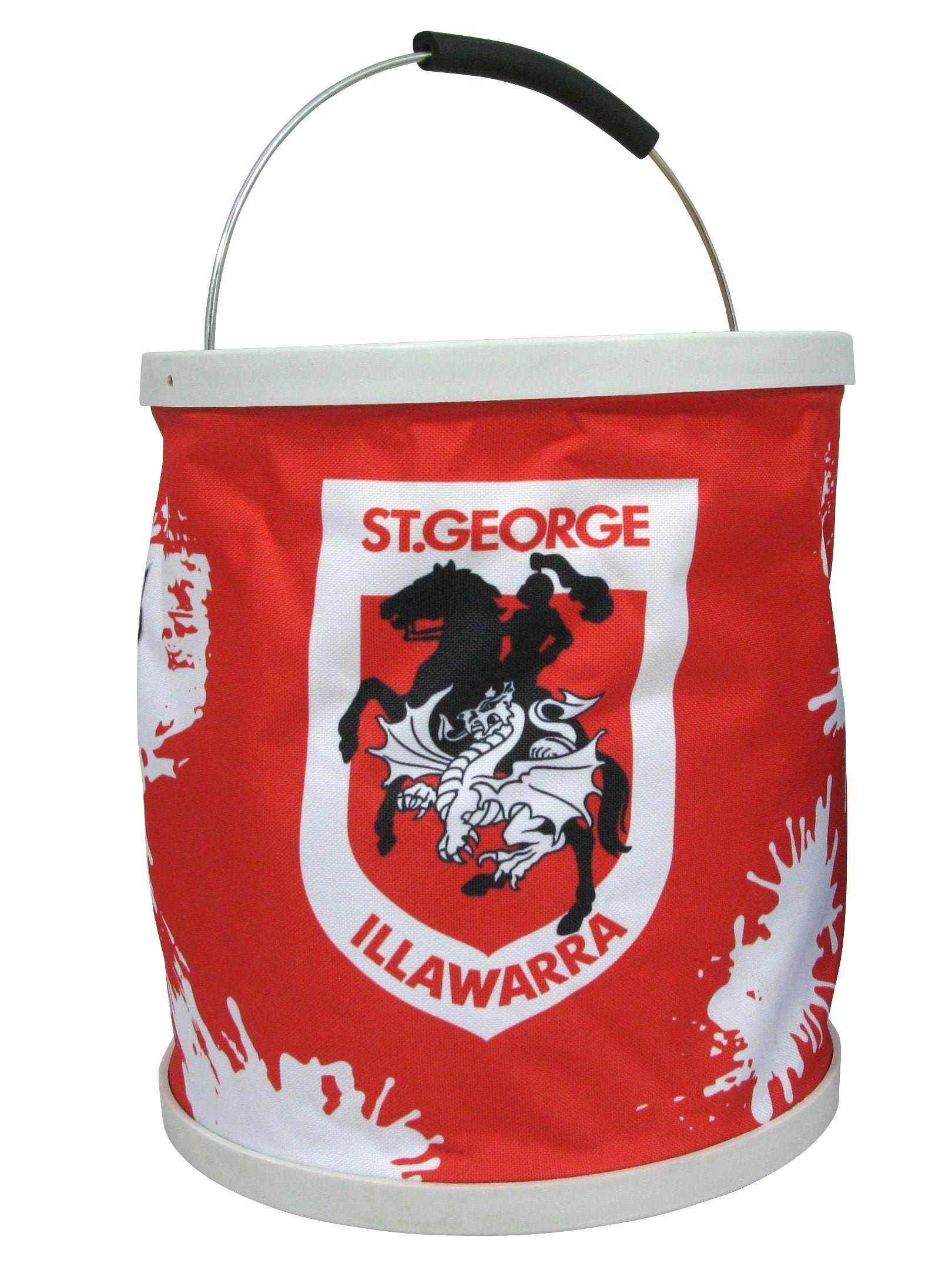 NRL Collapsible Bucket Dragons