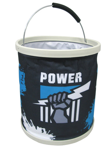 AFL Collapsible Bucket Port Adelaide