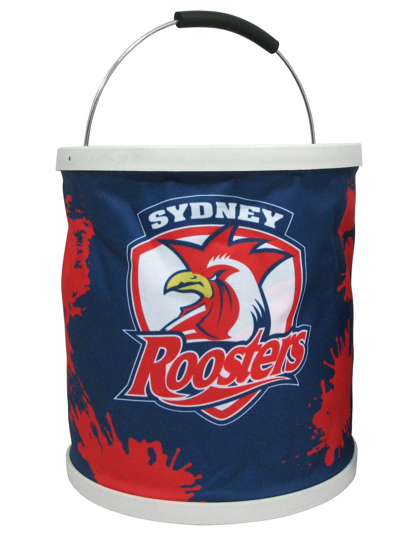 NRL Collapsible Bucket Roosters