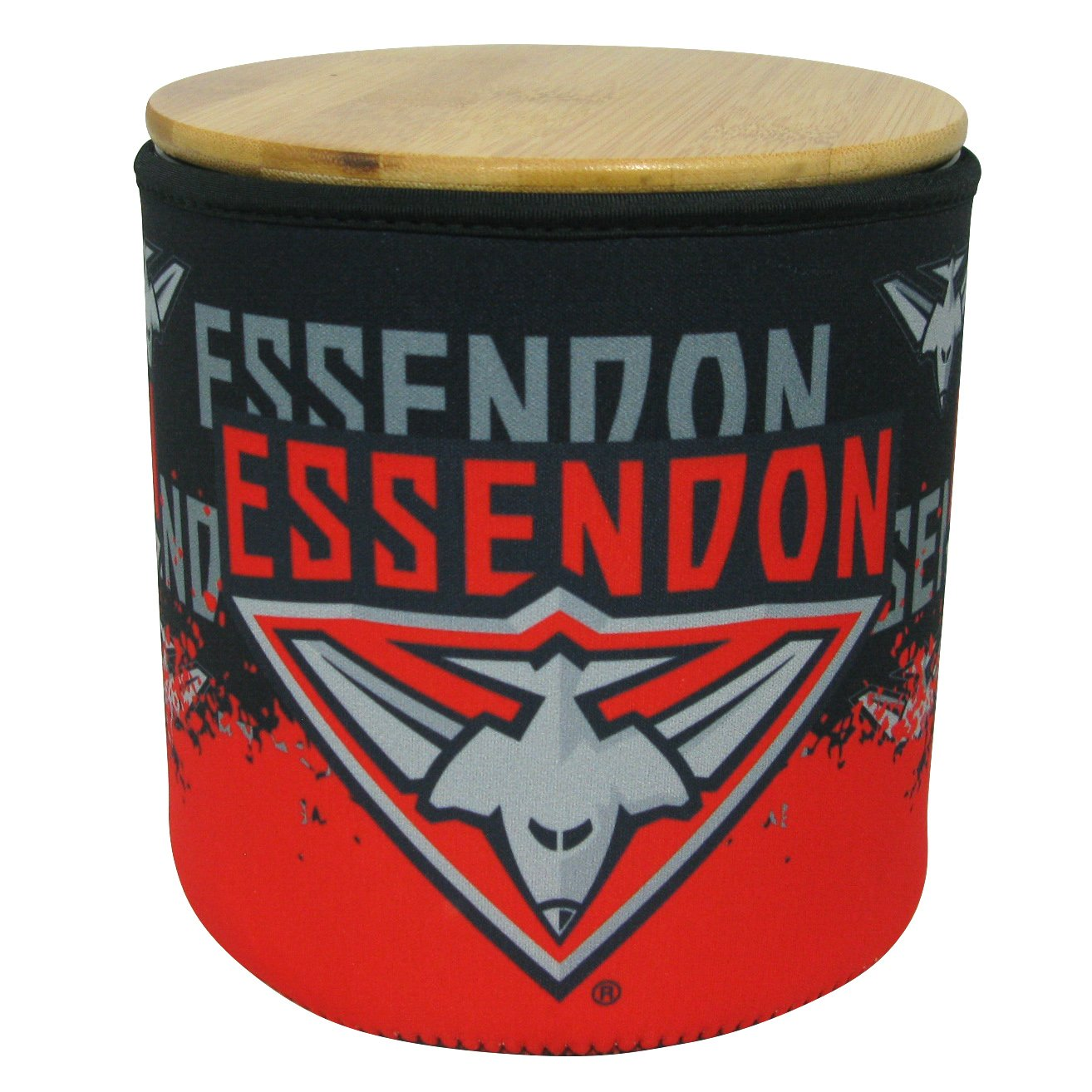 AFL COOKIE JAR WITH NEOPRENE COVER ESSENDON