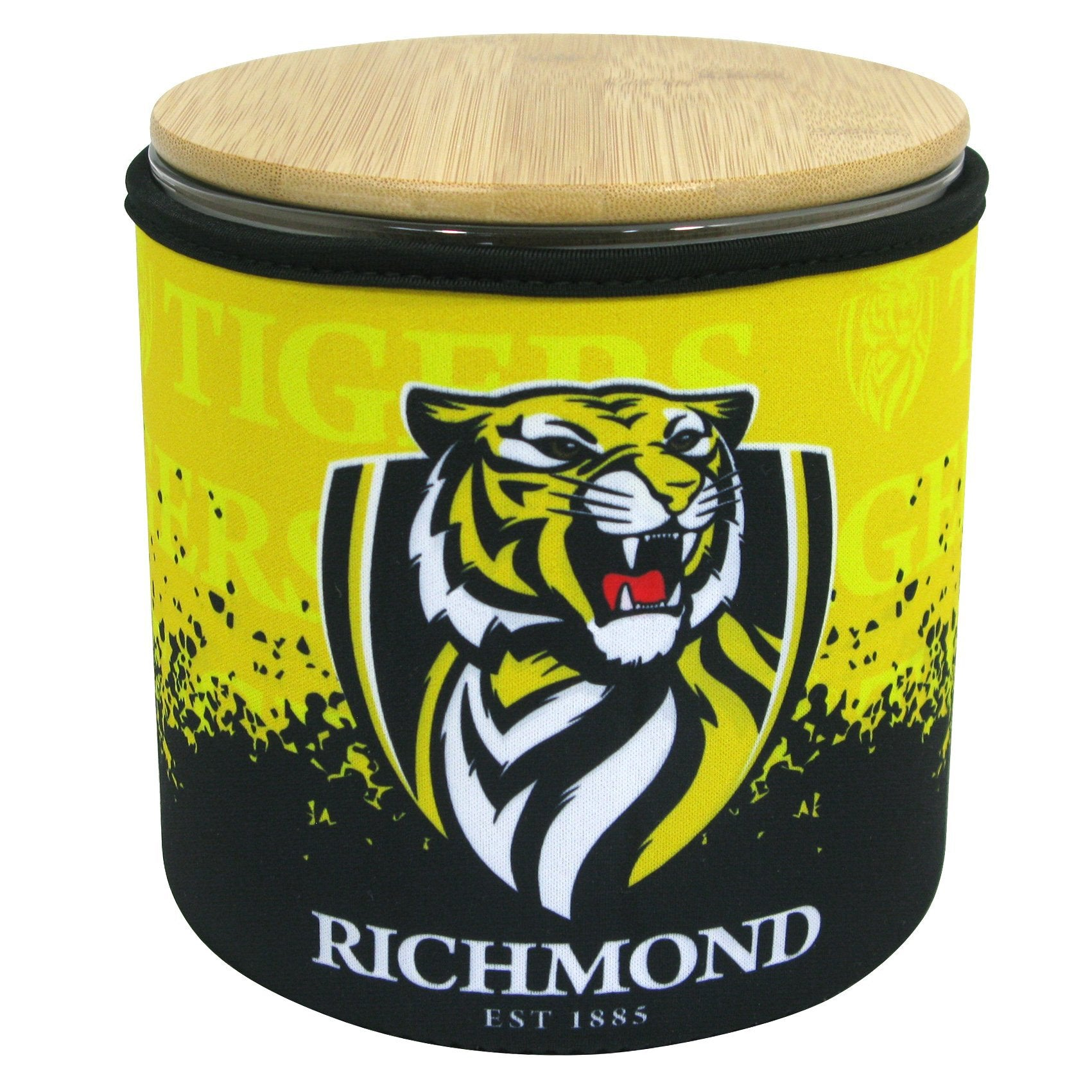 AFL COOKIE JAR WITH NEOPRENE COVER RICHMOND
