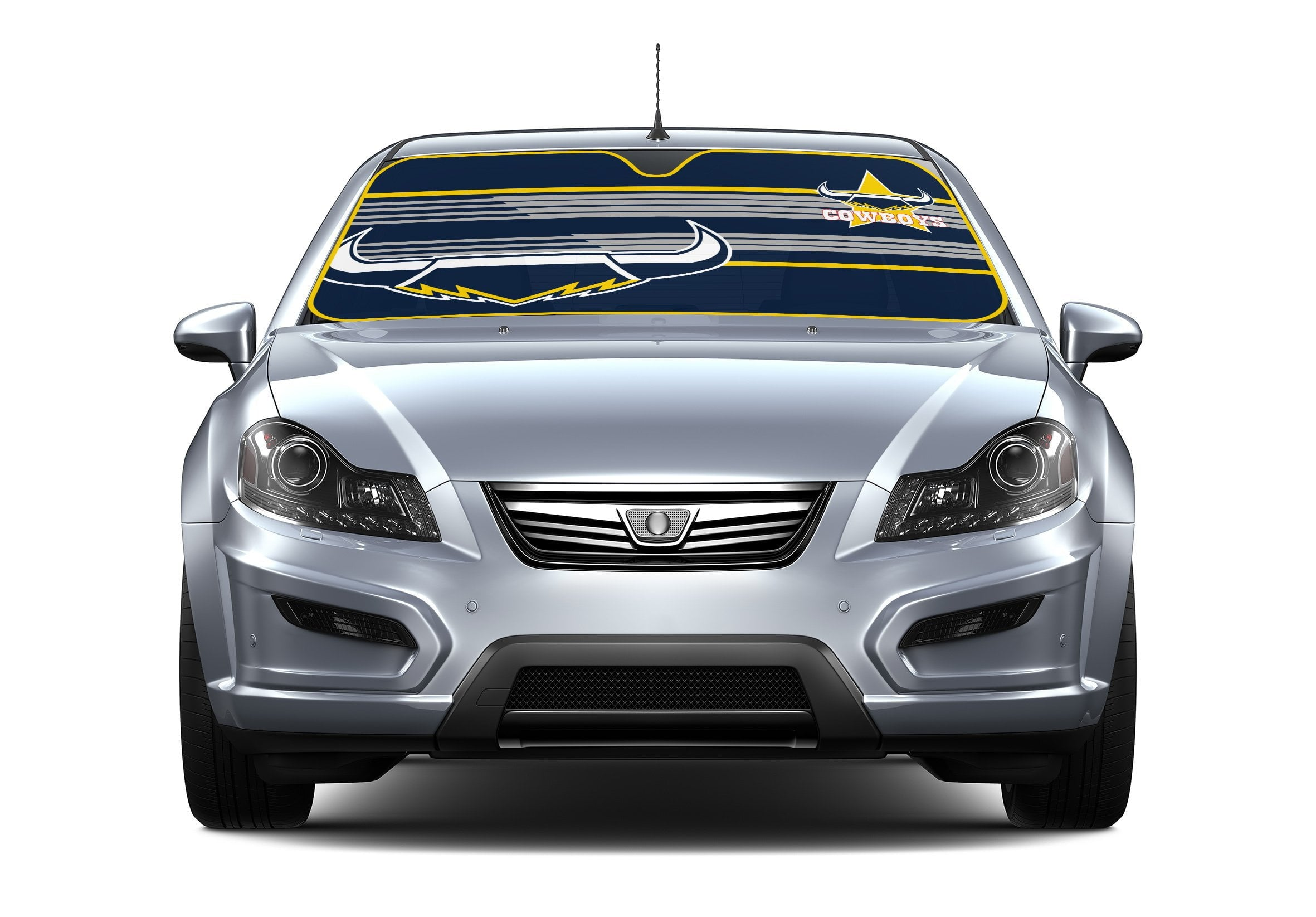 NRL Car Shade 2018 Cowboys