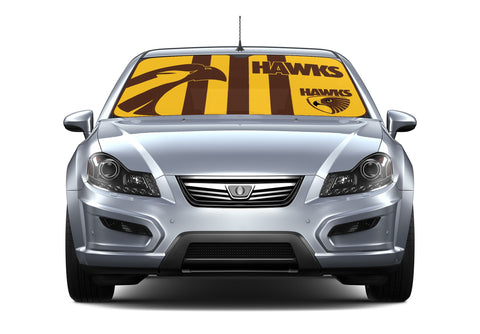 AFL Car Shade Hawthorn