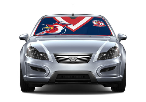 NRL Car Shade 2018 Rooosters