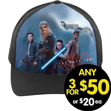 Star Wars Cap The Last Jedi