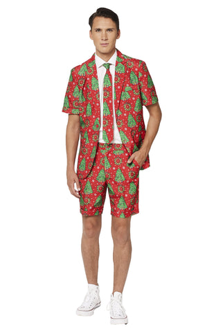 Suitmeister Christmas Short Sleeve Suit