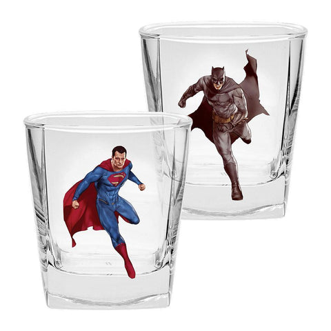 Justice League Movie Set Of 2 Spirit Glasses
