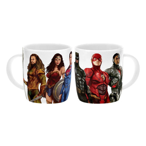 Justice League Movie Character Coffee Mug