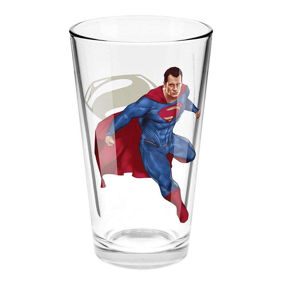Justice League Movie Superman Conical Glass