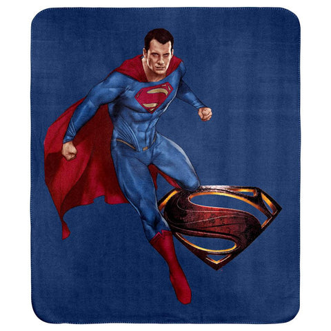 DC Superman Throw Rug