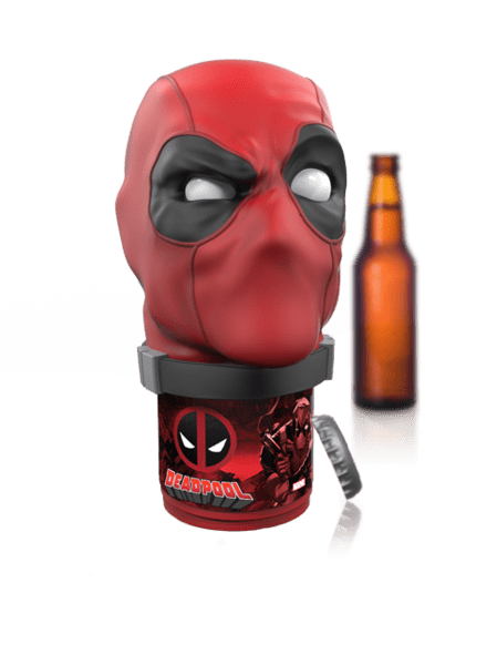 Bottlepops Talking Bottle Opener Deadpool