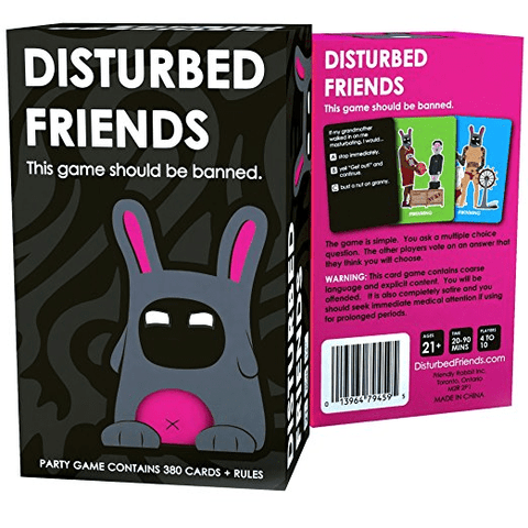 Disturbed Friends Game