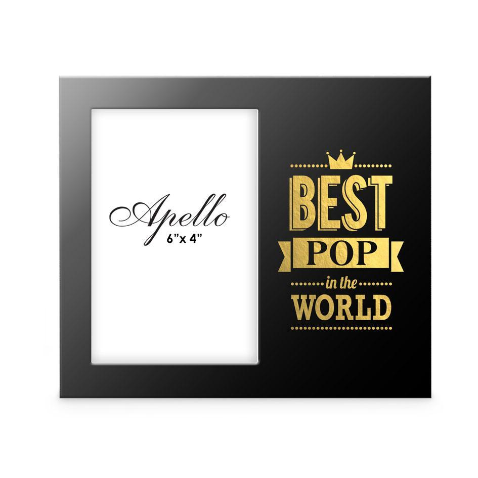 Best Pop In The World Photo Frame