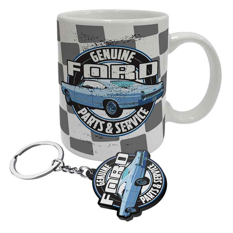 Ford Coffee Mug And Keyring Gift Pack