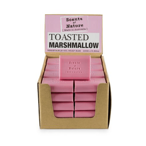 Toasted Marshmallow 100g Scents of Nature Soap Bar