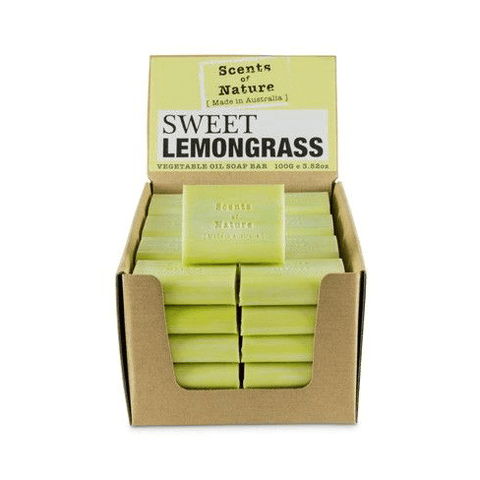 Sweet Lemongrass 100g Scents of Nature Soap Bar