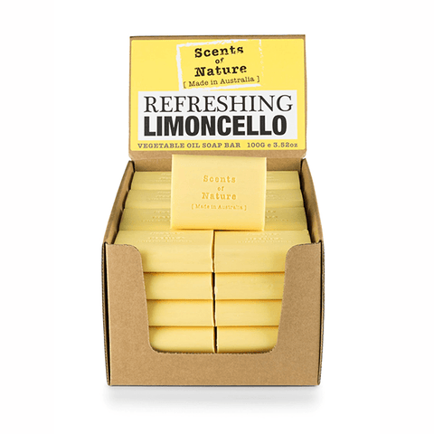 Refreshing Limoncello 100g Scents of Nature Soap Bar