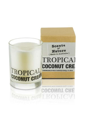 Tropical Coconut 240g Scents of Nature Candle