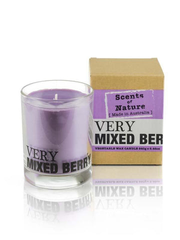 Mixed Berry 240g Scents of Nature Candle