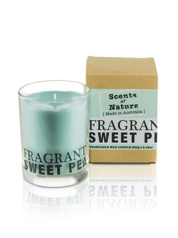 Sweetpea 240g Scents of Nature Candle