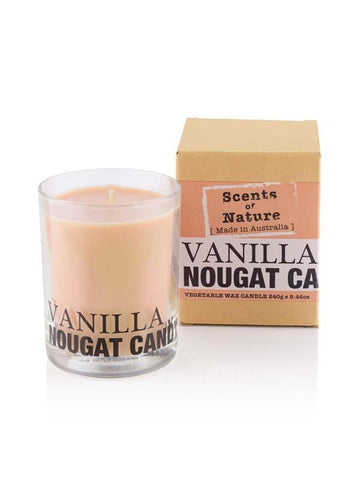 Vanilla Nougat 240g Scents of Nature Candle