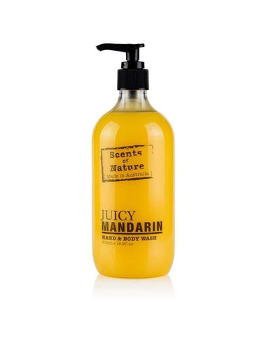 Juicy Mandarin 500ml Scents of Nature Body Wash