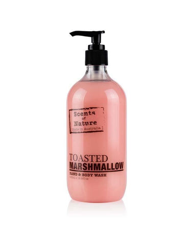 Toasted Marshmallow 500ml Scents of Nature Body Wash
