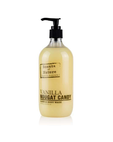 Vanilla Nougat Candy 500ml Scents of Nature Body Wash