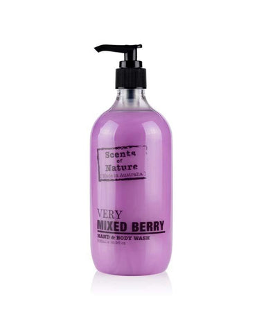 Very Mixed Berry 500ml Scents of Nature Body Wash