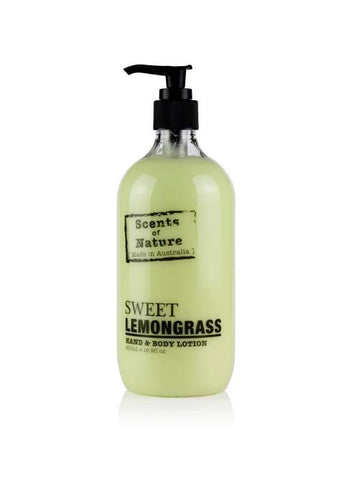 Sweet Lemongrass 500ml Body Scents of Nature Lotion