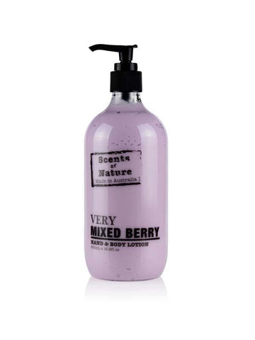 Very Mixed Berry 500ml Body Scents of Nature Lotion