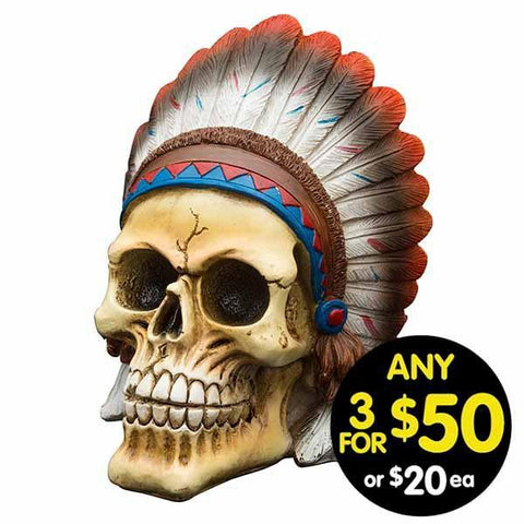 Tribal Skull Chief