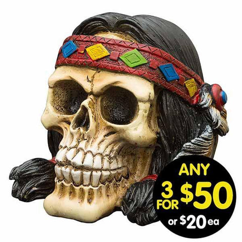 Tribal Skull Squaw