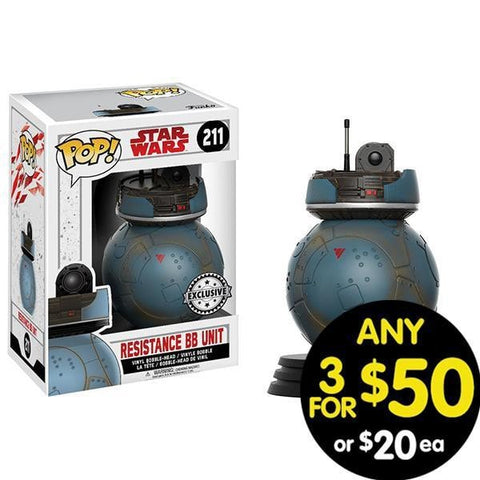 Star Wars Pop Vinyl Resistance Bb Unit