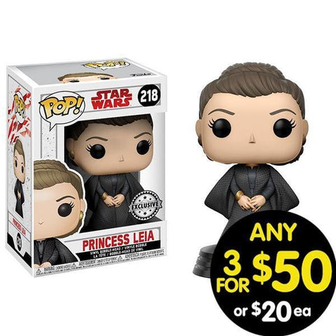 Star Wars Pop Vinyl Leia With Cloak