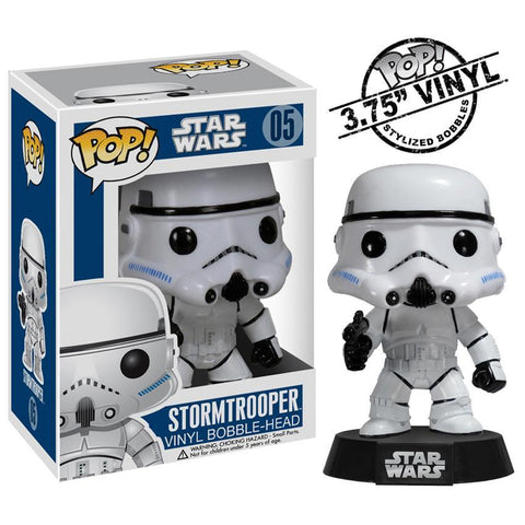 Star Wars Pop Vinyl Stormtrooper Bobble