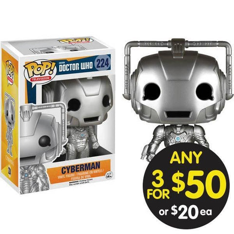 Doctor Who Pop Vinyl Cyberman