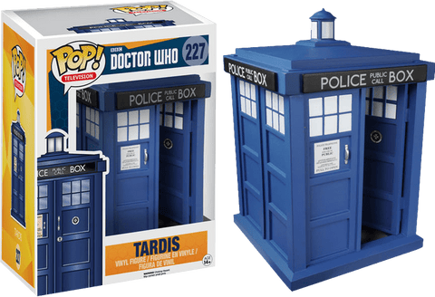 Doctor Who Pop Vinyl Tardis
