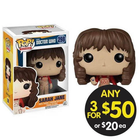 Doctor Who Pop Vinyl Sarah Jane