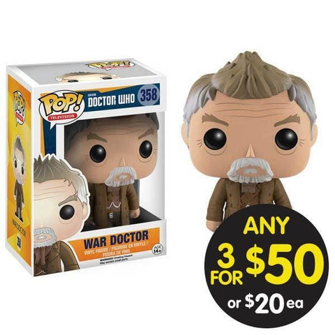 Doctor Who Pop Vinyl War Doctor
