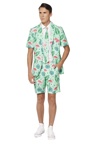 Suitmeister Flamingo Short Sleeve Suit