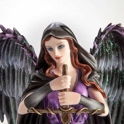 Large Fairy Figurine Angel With Sword