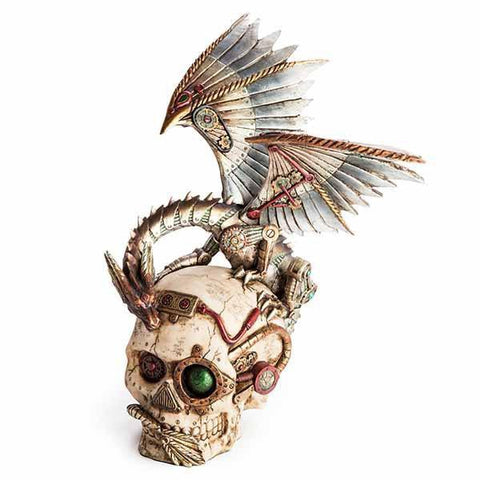 Skull Steampunk With Dragon